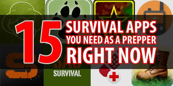 15+ Survival Apps You Need as a Prepper Right Now | Survival Sullivan