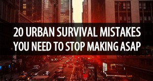 urban survival mistakes