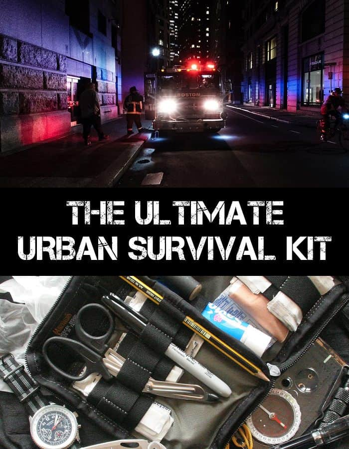 urban survival kit pinterest