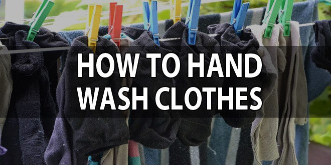 wash clothes by hand featured image
