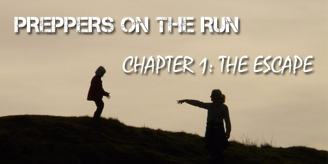 preppers on the run chapter 1 logo
