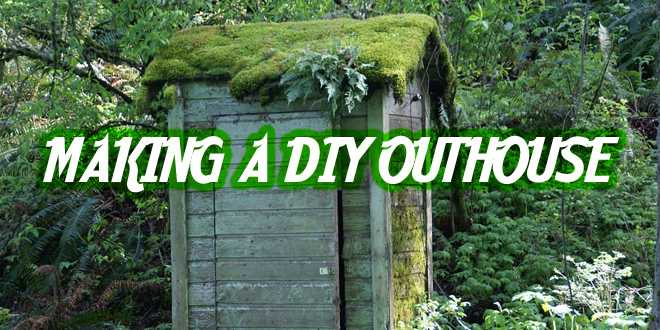 Making a DIY Outhouse | Survival Sullivan