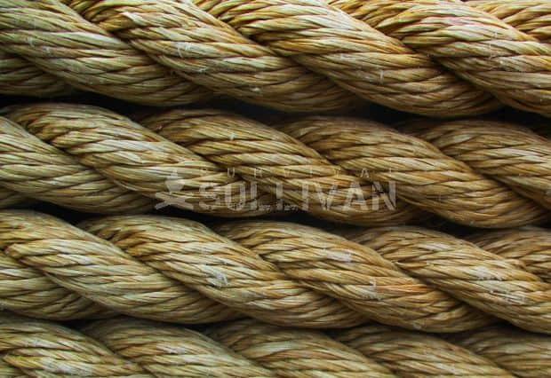 manila rope close-up