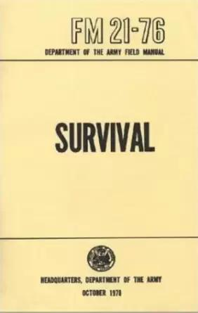 us-army 21-76 survival manual ecover