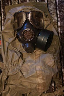 gas mask protective costume