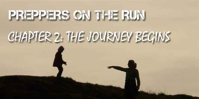 preppers on the run chapter 2 logo