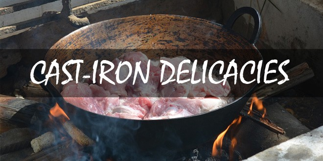 cast iron recipes featured