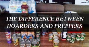 preppers hoarders difference logo