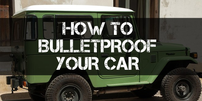 bulletproof your car logo