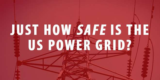 power grid safety logo