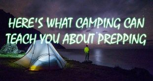 what camping can teach you logo