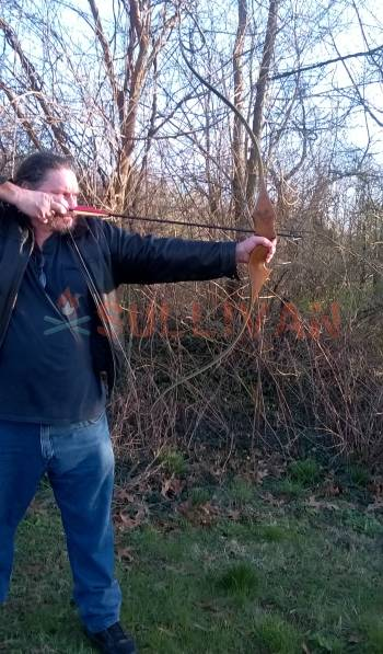 shooting a recurve bow
