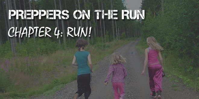preppers on the run chapter 4 logo