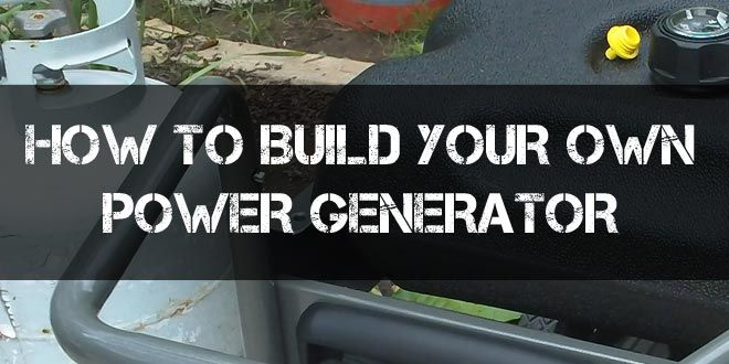 How to build your own power generator survival sullivan build your own generator logo asfbconference2016 Gallery