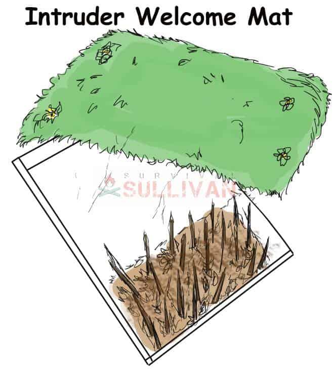 Intruder Welcome Mat