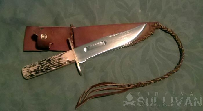 8 inch bowie knife