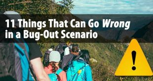 bug out scenarios dangers logo
