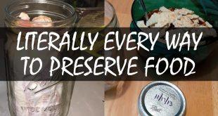 every way to preserve food logo