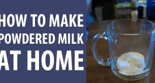 how to make powdered milk featured image