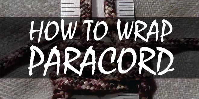 how to wrap paracord logo