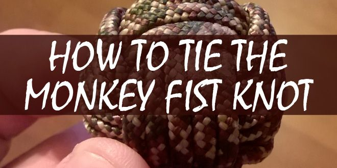 monkey fist knot logo