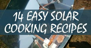 solar cooking recipes logo