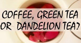 cofee green tea dandelion tea logo