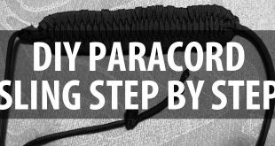 diy paracord sling step by step