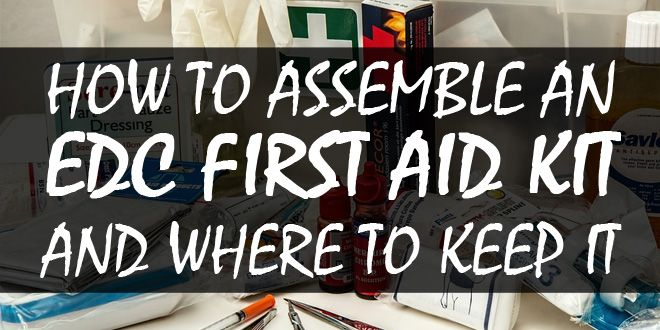 edc first aid kit logo