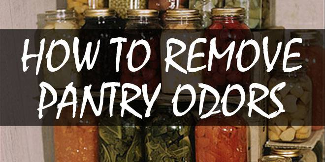 how to remove pantry odors logo