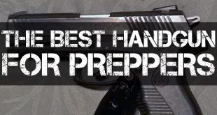 the best handguns for preppers