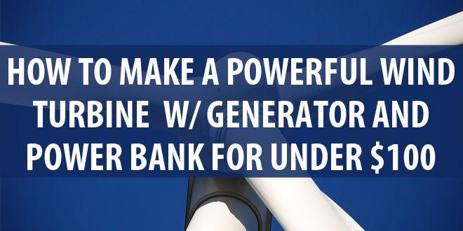 diy wind turbine featured image