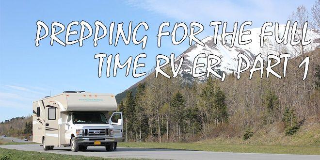 full time RVer part 1 logo