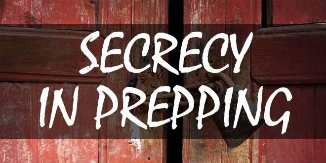 secrecy in prepping logo