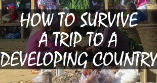 survive trip to developing country