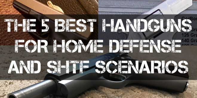 best handguns for home defense logo