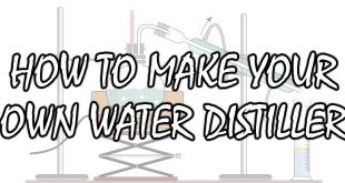 how to make a water distiller logo