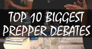top 10 prepper debates logo