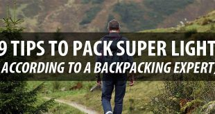 tips to pack light