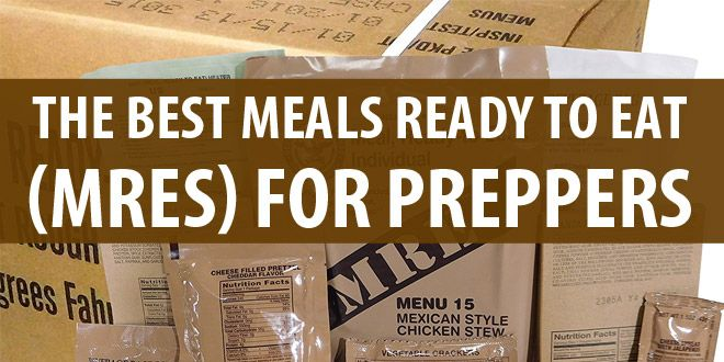 best mres for preppers image