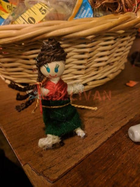 hand crafted doll