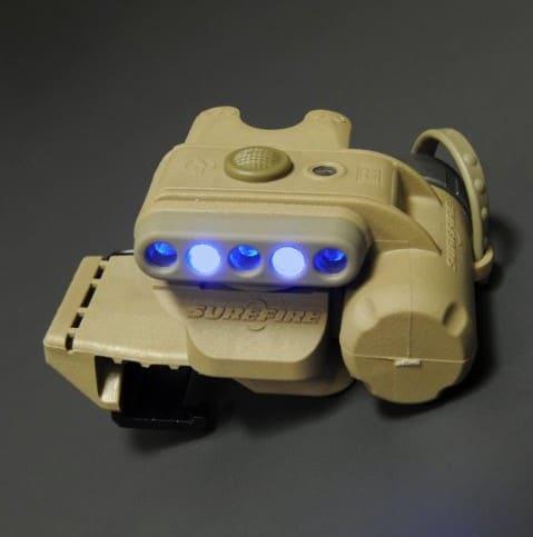 tactical helmet light