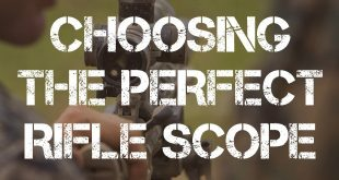 choosing the perfect rifle scope featured