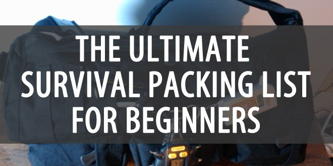 survival packing list beginners featured