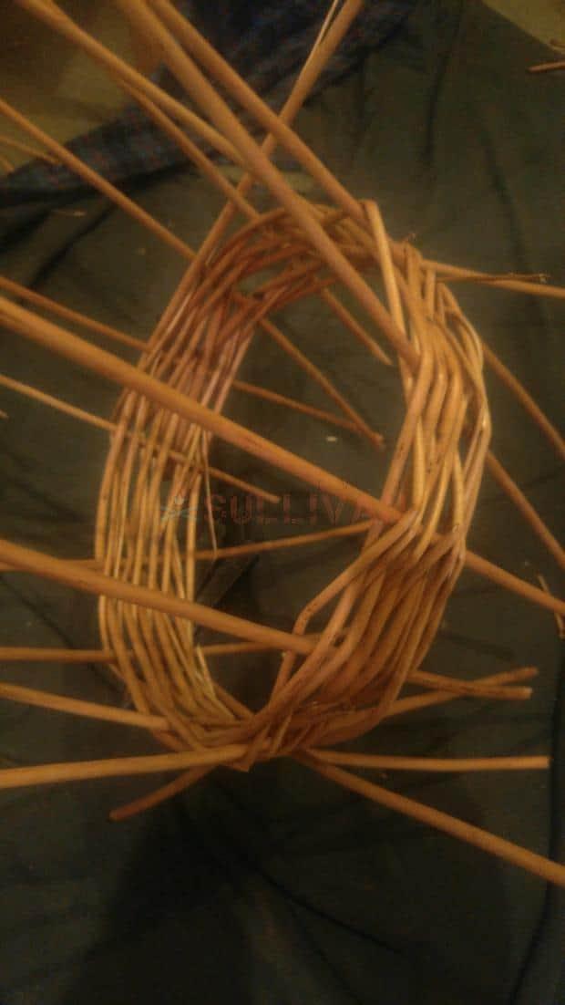 fish trap basket step 1