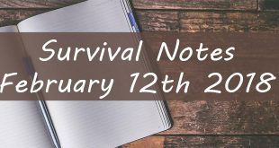 survival notes featured image