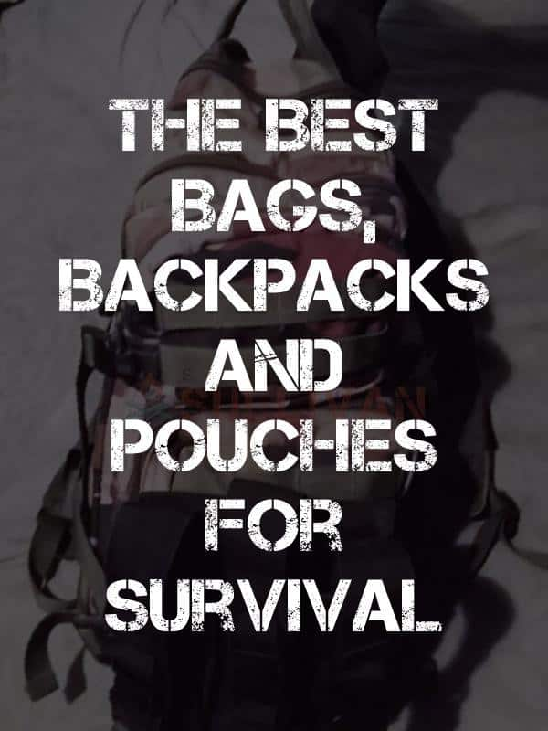 The Best Survival Bags pinterest