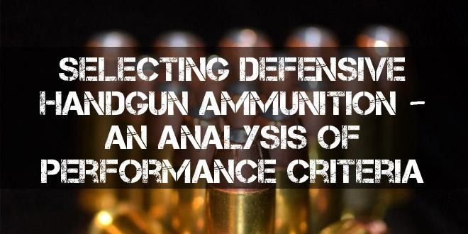 defensive handgun ammo featured image