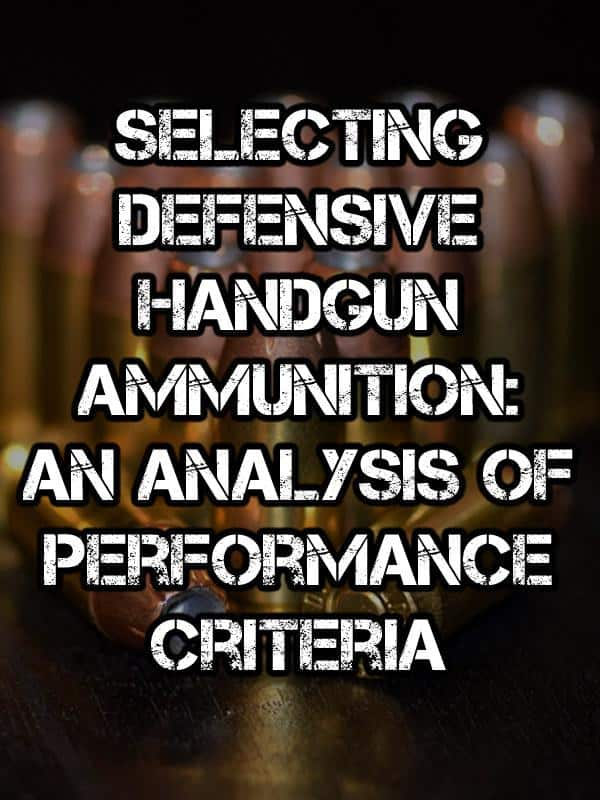 defensive handgun ammo pinterest