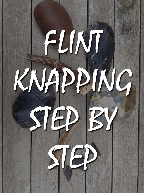 flint knapping featured pinterest